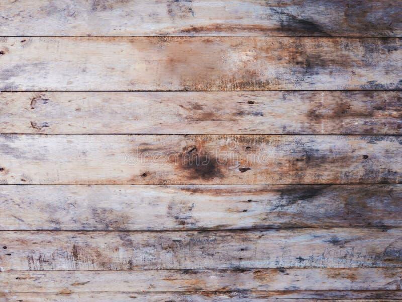 Schmutziges Weinlesebraunholz mit Fleck lizenzfreies stockfoto