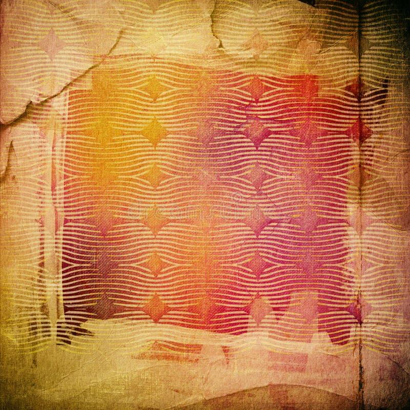 Schmutzpapierbeschaffenheit, Weinlesehintergrund stock abbildung