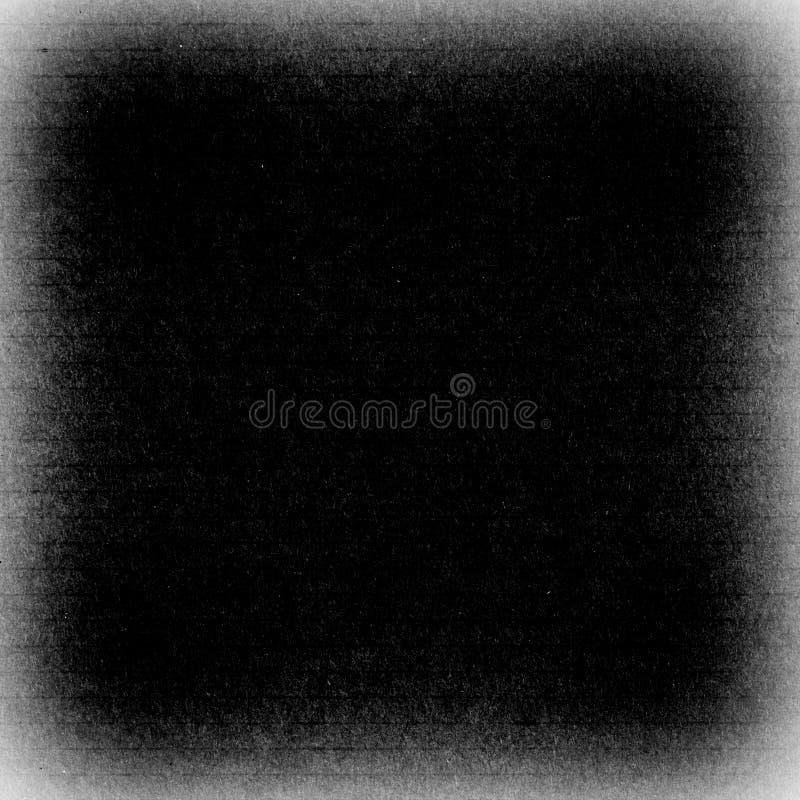 Schmutzrahmen, schwarze Farbe, kreativer Hintergrund mit Raum für yo stockfoto