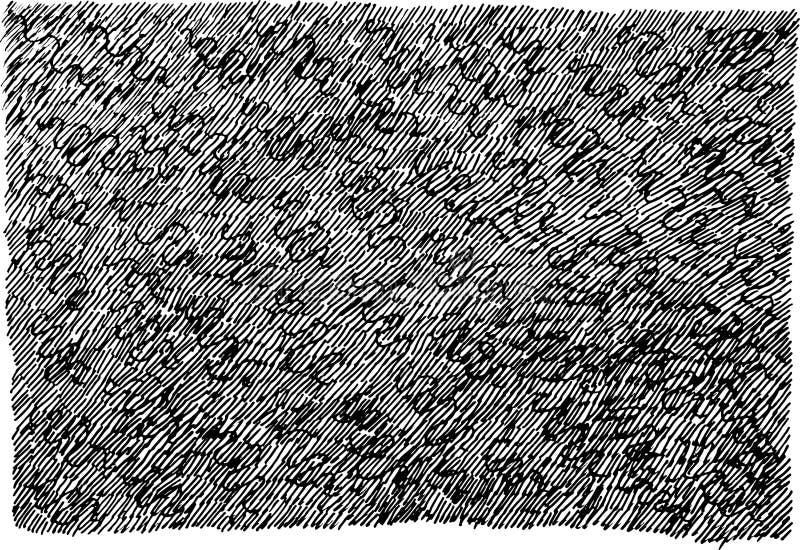 Schmutztinten-Handgezogene Beschaffenheit Schwarzweiss-Hintergrund f?r Design Stra?enkunstart Kratzerlinie Kunst Auch im corel ab vektor abbildung