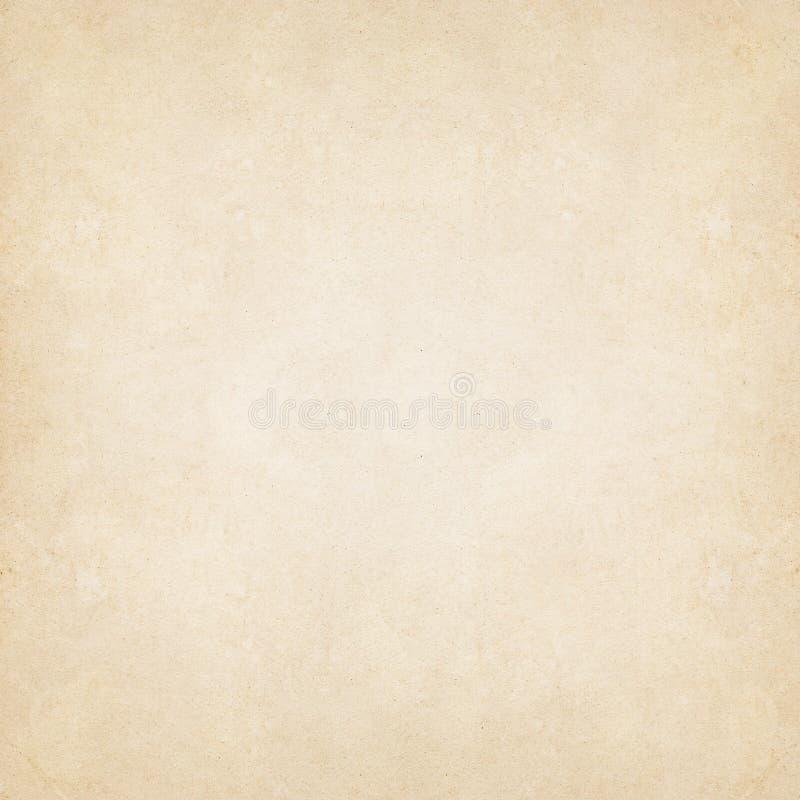 Schmutzweinlesealtes Papierhintergrund-Quadratformat lizenzfreies stockbild
