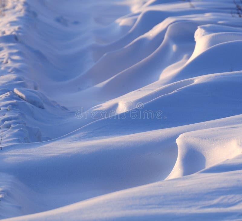 Schnee stockbild