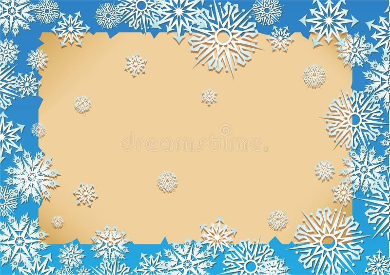 Schnee stock abbildung