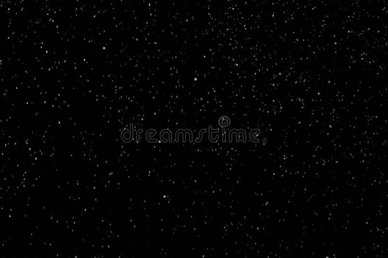 Schnee Blizzard animierte Schleierleine lizenzfreie stockfotos