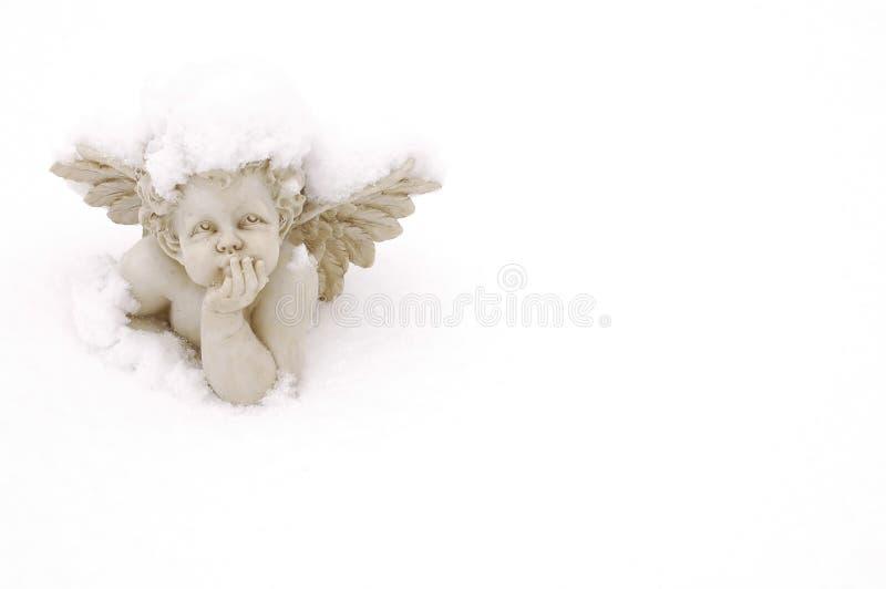 Schnee-Engel lizenzfreie stockbilder