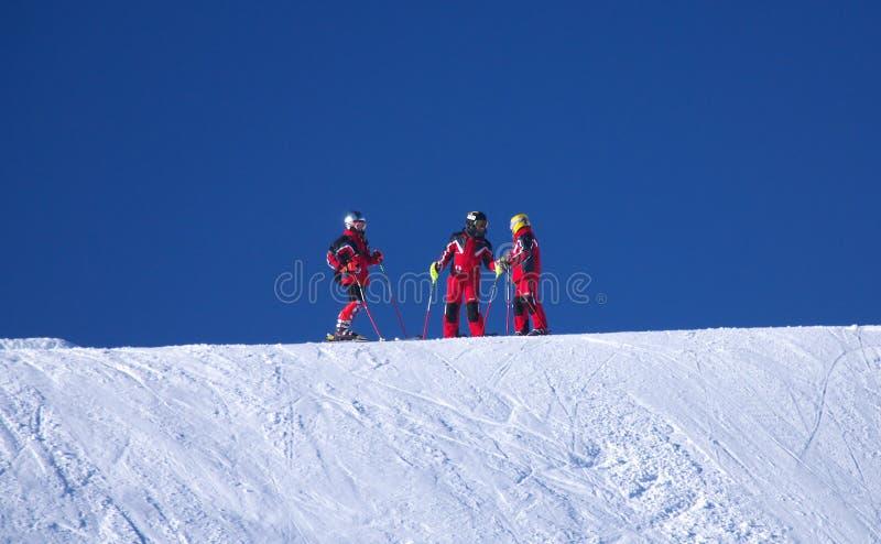 Schnee für drei stockfotos
