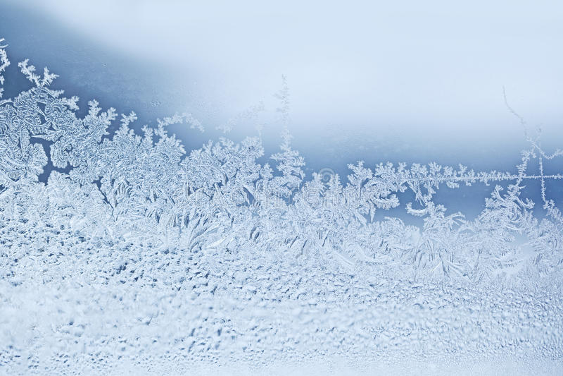 Schnee-Flocken stockfotos
