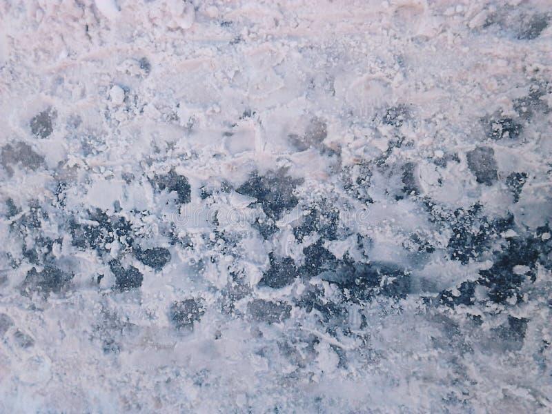 Schnee und Eis lizenzfreies stockfoto