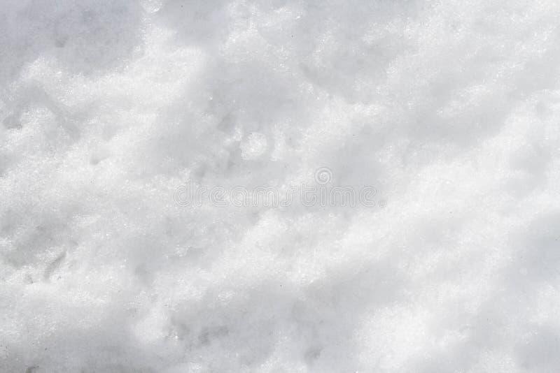 Schnee von der Sierra Nevada stockfotografie