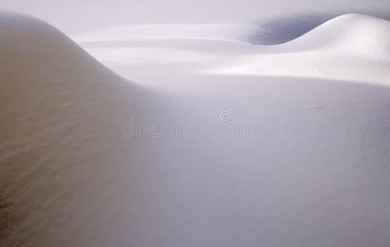 Schneeantriebe stockbilder