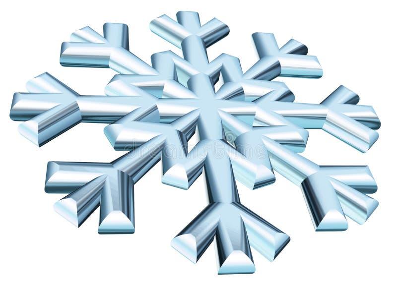 Schneeflocke stock abbildung