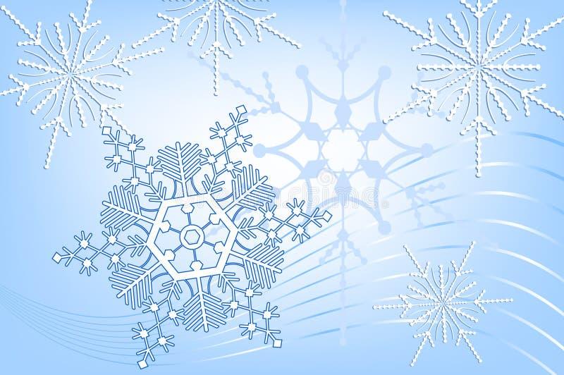 Schneeflocke-Auszug vektor abbildung
