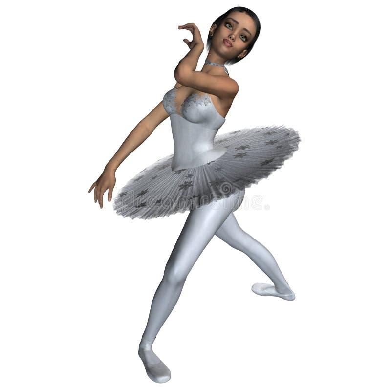 Schneeflocke-Ballett - 2 lizenzfreie abbildung