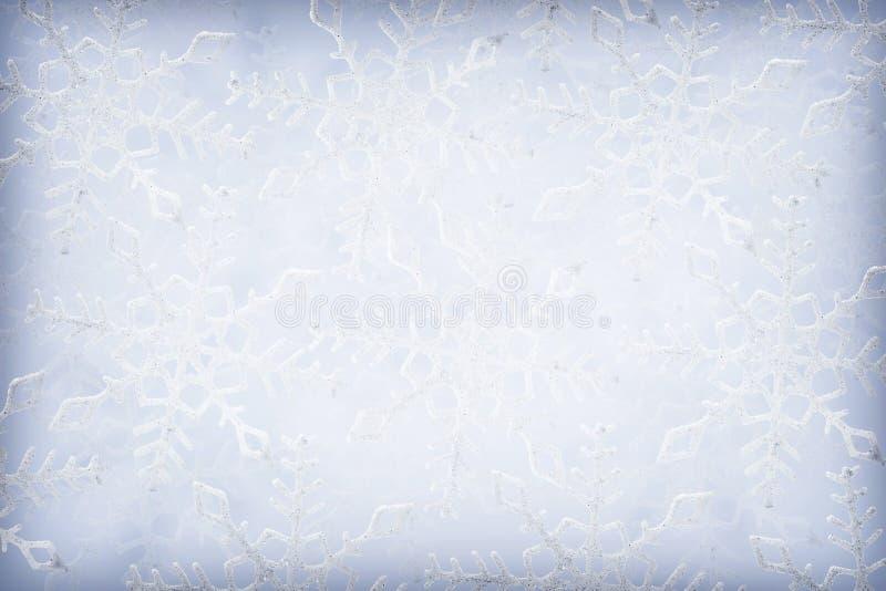 Download Schneeflockehintergrund stockbild. Bild von weiß, schnee - 27727485