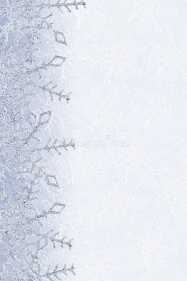 Download Schneeflockehintergrund stockfoto. Bild von karte, flocke - 27727544