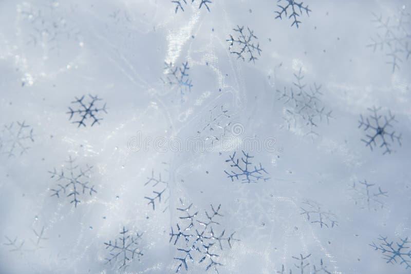 Schneeflockehintergrund lizenzfreies stockbild