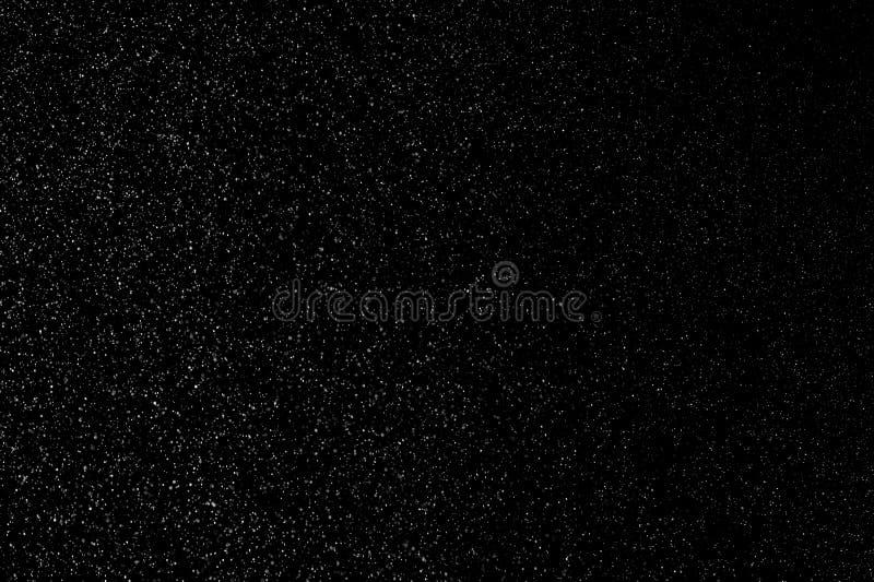 Schneeflocken über den Bildschirm schießen lizenzfreie stockbilder