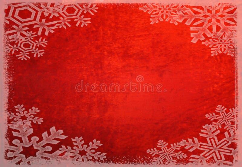 Schneeflocken-Hintergrund lizenzfreie stockbilder