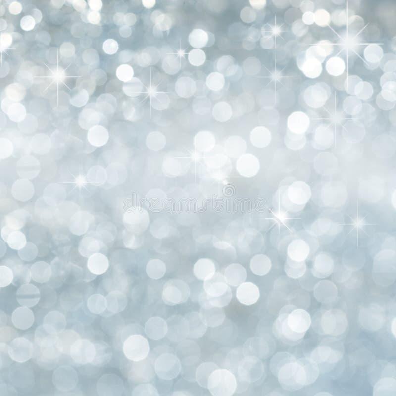 Schneeflockenhintergrund stockfotografie