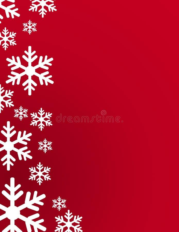 Schneeflockenvektor-Illustrationskunst stock abbildung