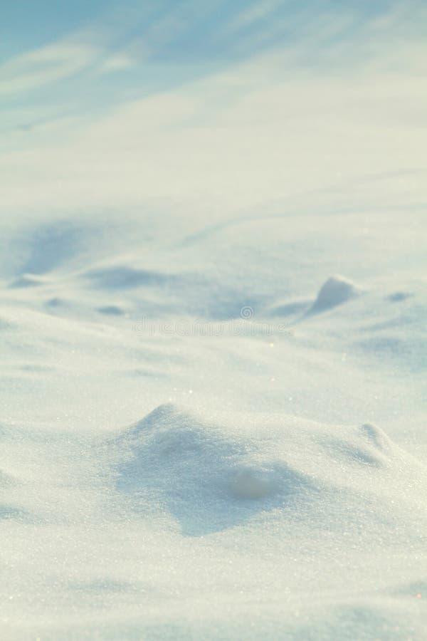 Schneehand, schließen lizenzfreies stockbild