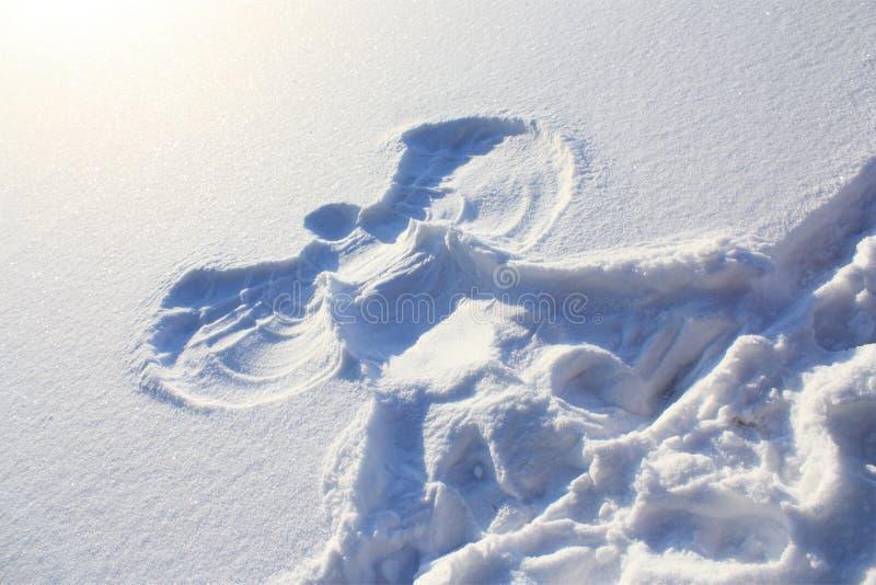 Schneengel lizenzfreie stockfotografie