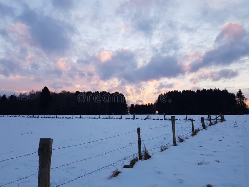 Schneetag stockbilder