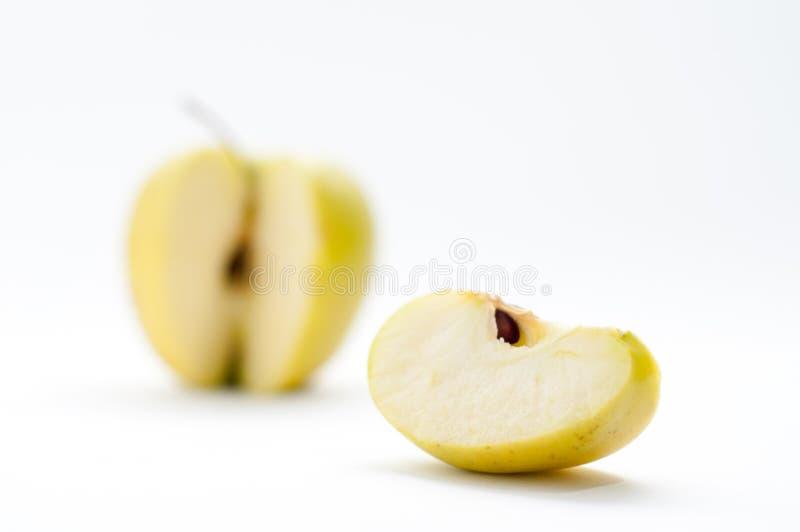 Schneiden Sie Apple stockfoto