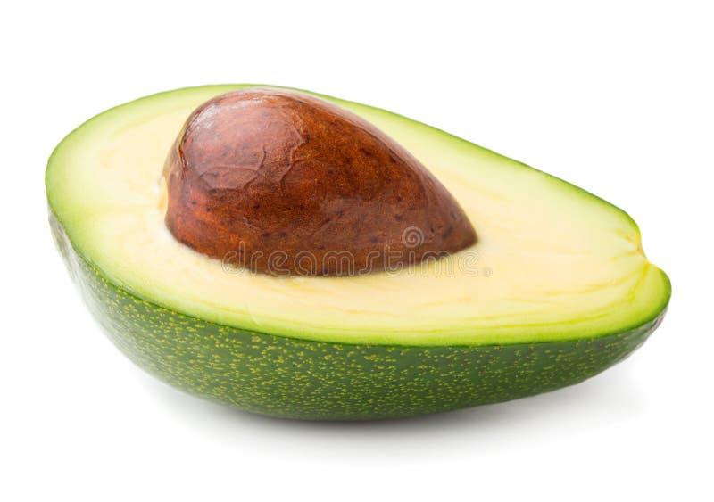 Schneiden Sie Avocado stockbild