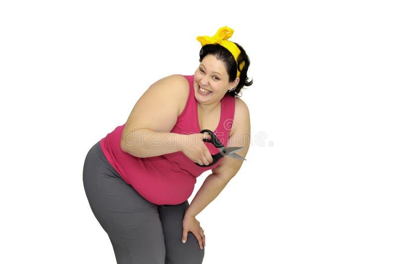 Schneiden Sie das Fett lizenzfreies stockbild