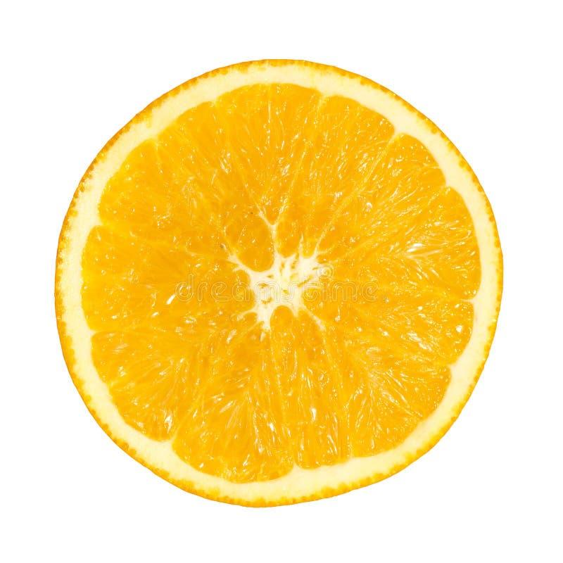 Schneiden Sie Orange lizenzfreie stockbilder