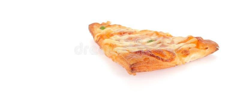 Schneiden Sie Scheibepizza ab stockfoto