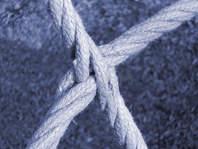 Schneidene Seile lizenzfreie stockfotos