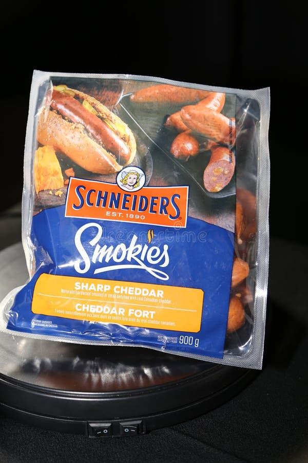 SCHNEIDERS- Smokies stock foto