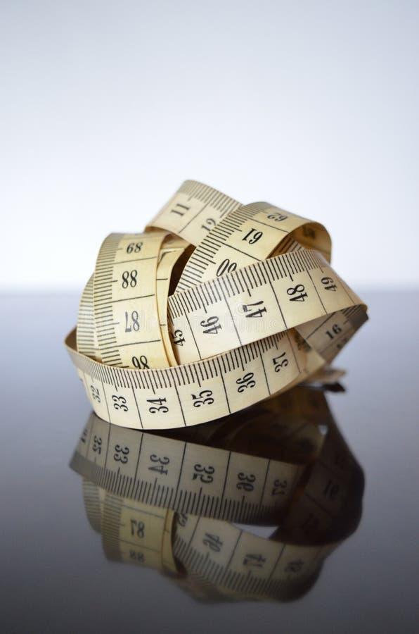 Schneiderzentimeterband lizenzfreies stockbild