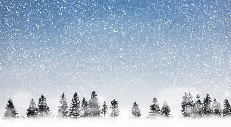 Schneien lizenzfreies stockfoto