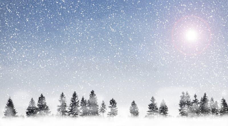 Schneien lizenzfreie stockbilder