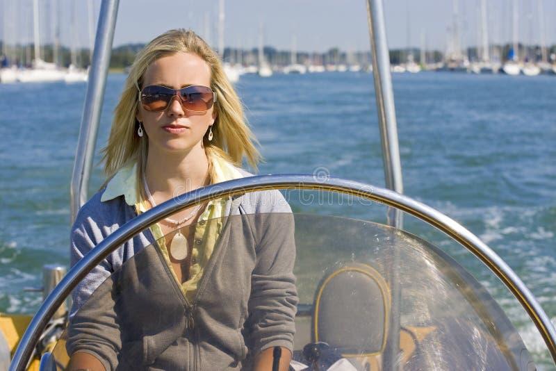 Schnellboot-Schönheit lizenzfreies stockbild
