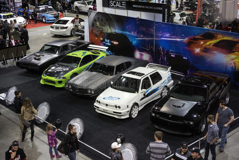 Schnelle und wütende Autos lizenzfreie stockbilder