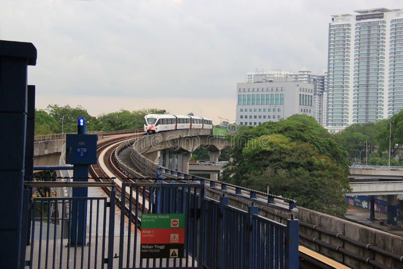 Schneller Kiloliter in Kuala Lumpur, Malaysia stockfotos