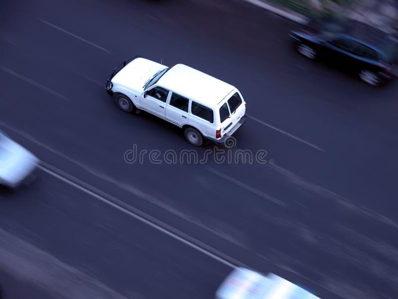 Schnelles Auto lizenzfreie stockfotografie
