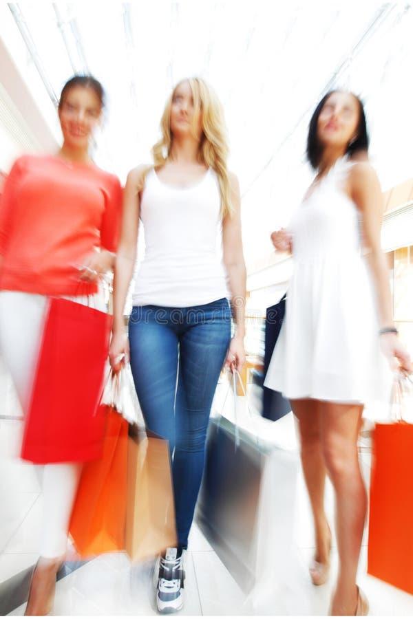 Schnelles Einkaufen stockbild