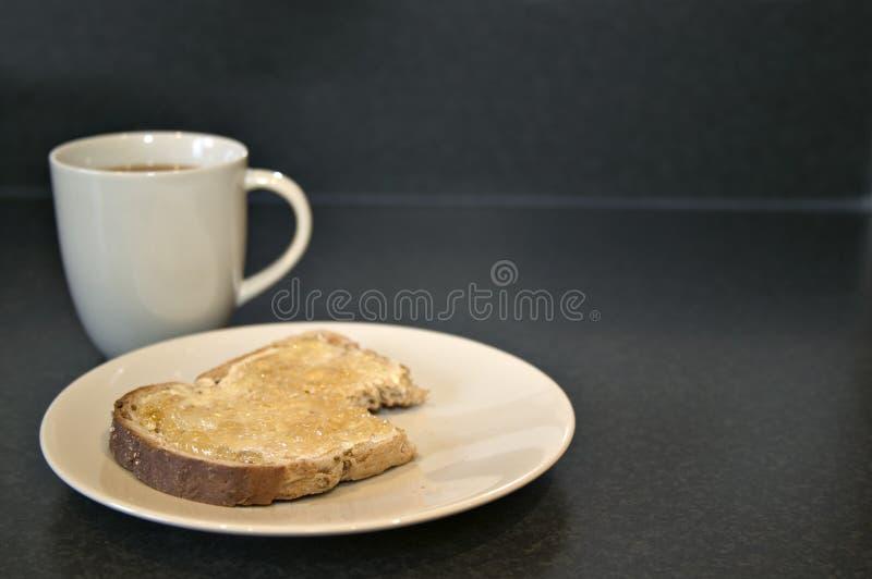 Schnelles Frühstück stockfotografie