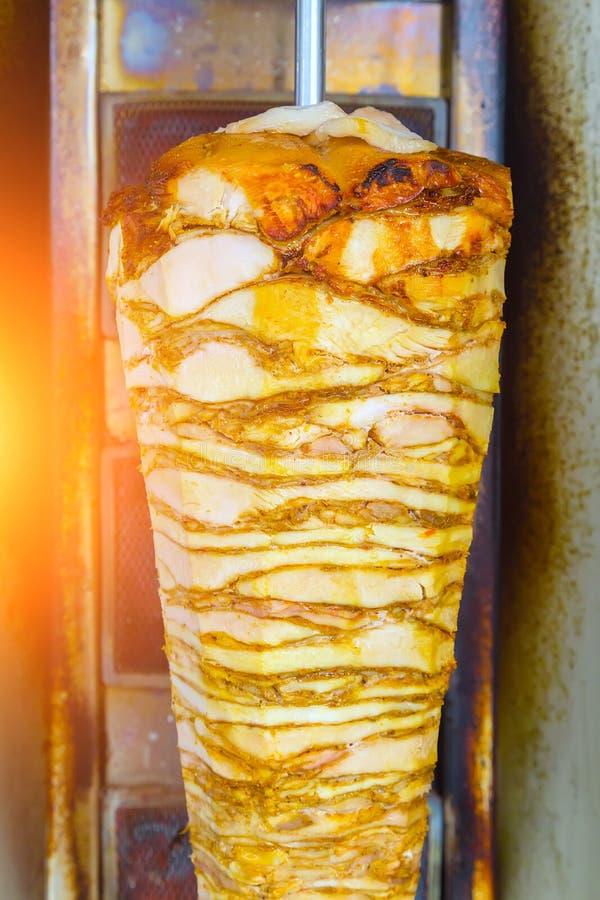 Schnellimbiß der türkischen Nahrung-Doner-Kebabküche lizenzfreies stockfoto
