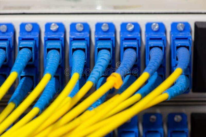 Schnittstelle optischer Zusammenfassung Telekommunikation der Lochkartengeräte verwischte Bild für Gebrauch als Hintergrund lizenzfreie stockbilder