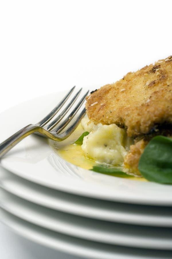 Schnitzel del pollo foto de archivo libre de regalías