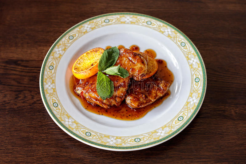 Download Schnitzel del pollo foto de archivo. Imagen de cooking - 44855640