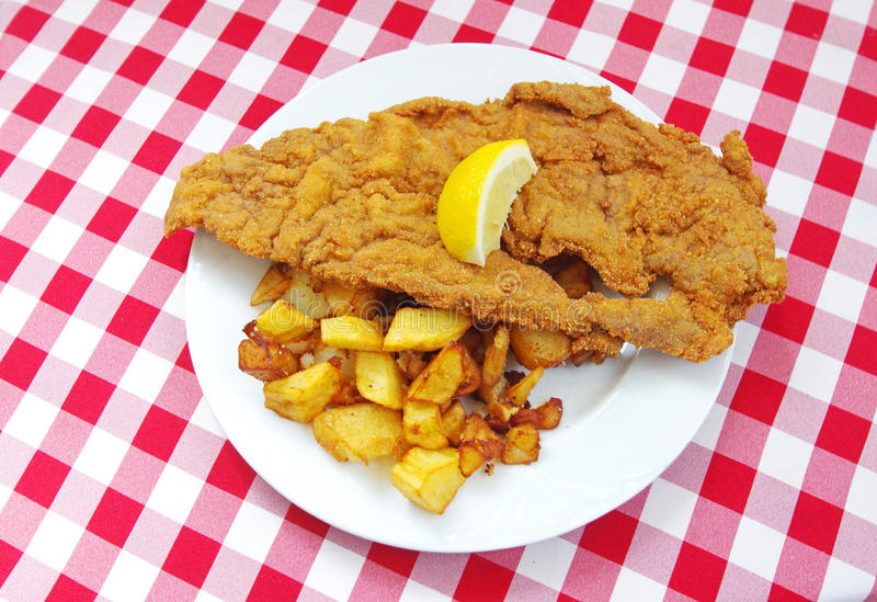 Download Schnitzel Veal Escalop Royalty Free Stock Photography - Image: 24788657