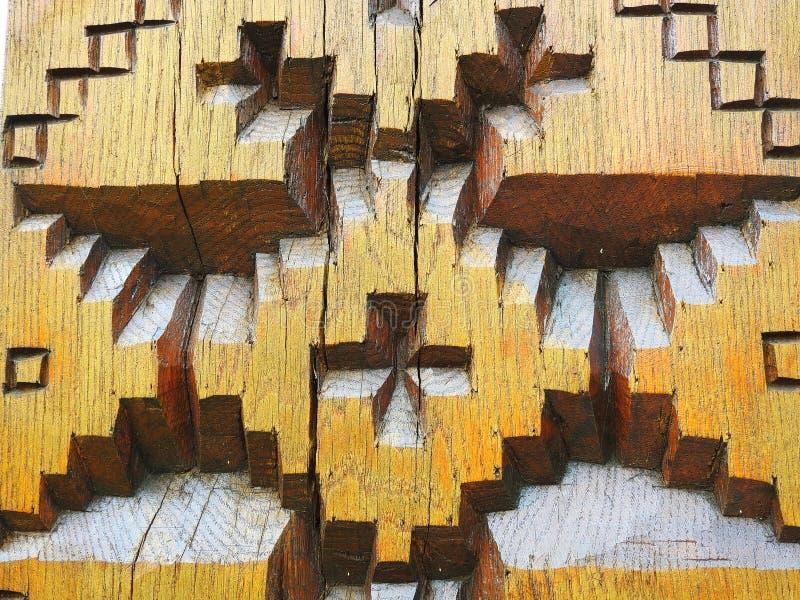 Schnitzen von Holzoberflächebeschaffenheit lizenzfreie stockfotos