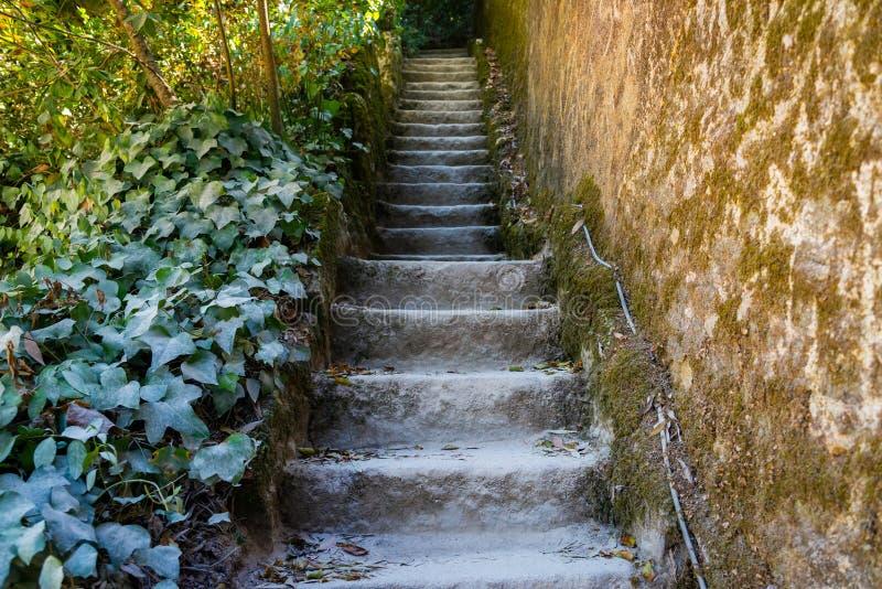 Schodki abstrakt?w krok?w Schodki w mie?cie Granitowi schodki Kamienny schody cz?sto widzie? na zabytkach i punktach zwrotnych, s zdjęcia stock
